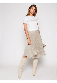 Szara spódnica plisowana MAX&Co.