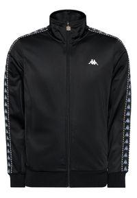 Kappa Bluza Imanuel 309007 Czarny Regular Fit. Kolor: czarny