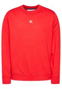 Czerwona bluza Calvin Klein Jeans