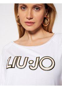 Liu Jo Sport T-Shirt TA1012 J7905 Biały Regular Fit. Kolor: biały. Styl: sportowy