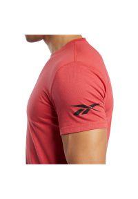 Koszulka męska Reebok Workout Ready Jersey Tech FP9103. Materiał: jersey. Wzór: aplikacja