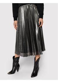 Pennyblack Spódnica plisowana Nuvoloso 11040420 Srebrny Regular Fit. Kolor: srebrny