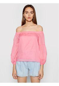 Rinascimento Bluzka CFC0103520003 Różowy Regular Fit. Kolor: różowy