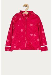 Różowa kurtka OVS casualowa, z kapturem