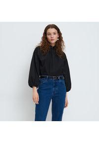 Mohito - Bawełniana koszula - Czarny. Kolor: czarny. Materiał: bawełna