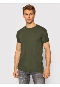 Tigha T-Shirt Zander 105815 Zielony Regular Fit. Kolor: zielony