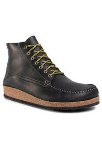 Czarne buty zimowe Birkenstock