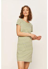 Zielona sukienka Vila biznesowa, na spotkanie biznesowe