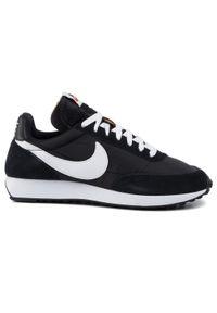 Czarne półbuty Nike klasyczne, na co dzień