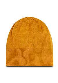 Żółta czapka salomon