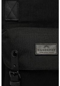 Czarny plecak Doughnut gładki