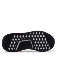 Białe sneakersy Adidas z cholewką, na co dzień, Adidas NMD