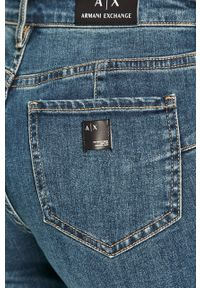 Niebieskie jeansy Armani Exchange