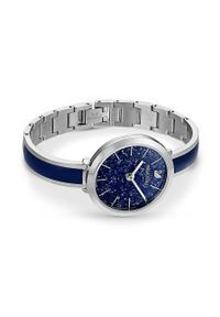 Swarovski - Zegarek CRYSTALLINE DELIGHT. Kolor: niebieski. Materiał: materiał