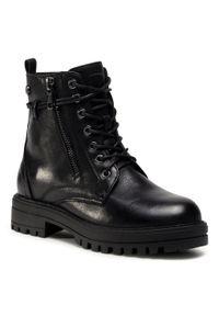 Czarne buty zimowe Xti z cholewką