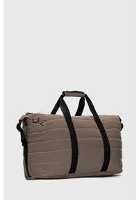 Rains - Torba 1378 Weekend Bag Quilted. Kolor: brązowy