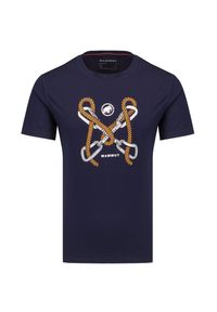 Mammut - T-shirt MAMMUT SLOPER. Materiał: bawełna, dzianina. Wzór: nadruk. Styl: klasyczny