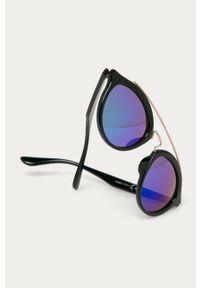 Niebieskie okulary przeciwsłoneczne Answear Lab