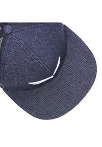 Niebieska czapka z daszkiem Salewa