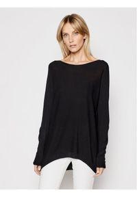 Kontatto Sweter 3M7218 Czarny Relaxed Fit. Kolor: czarny