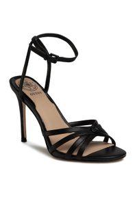 Czarne sandały Guess eleganckie