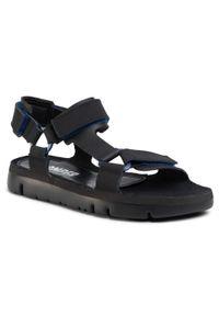 Czarne sandały Camper na co dzień, na lato, casualowe