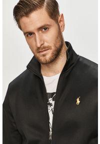 Czarna bluza rozpinana Polo Ralph Lauren casualowa, polo