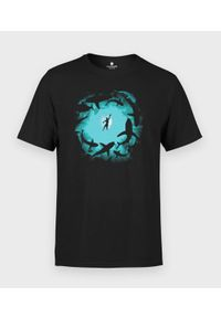 MegaKoszulki - Koszulka męska Shark Attack. Materiał: bawełna