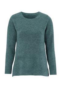 Sweter Cellbes elegancki, melanż, długi