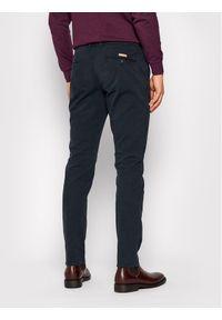 Baldessarini Spodnie materiałowe Janus 16837/000/2284 Granatowy Slim Fit. Kolor: niebieski. Materiał: materiał