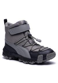Szare buty zimowe Puma na spacer