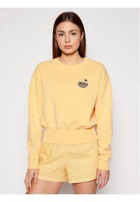 Roxy Bluza Radio Silence B ERJFT04243 Żółty Regular Fit. Kolor: żółty