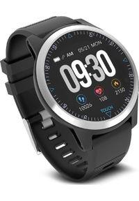 Czarny zegarek ProMedix smartwatch