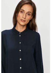 Niebieska koszula Jacqueline de Yong długa, klasyczna