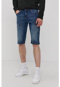 Lee Cooper - Szorty jeansowe. Okazja: na co dzień. Kolor: niebieski. Materiał: jeans. Styl: casual
