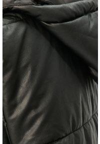 Czarna kamizelka Answear Lab wakacyjna, z kapturem, gładkie