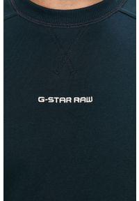 Niebieska bluza nierozpinana G-Star RAW bez kaptura, casualowa, na co dzień