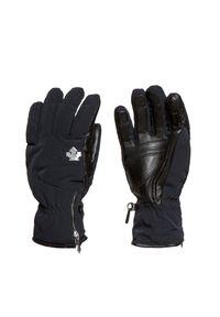 Czarna rękawiczka sportowa Descente narciarska