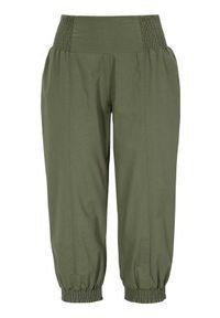 Cellbes Rybaczki z marszczoną gumą khaki female zielony 50. Kolor: zielony. Materiał: guma