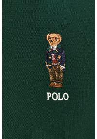 Zielona koszulka polo Polo Ralph Lauren casualowa, krótka, na co dzień