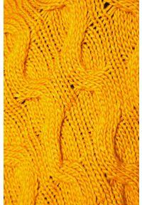 Pomarańczowy sweter medicine