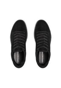 vagabond - Sneakersy VAGABOND - John 5284-050-92 Black/Black. Okazja: na co dzień. Kolor: czarny. Materiał: skóra, nubuk. Szerokość cholewki: normalna. Styl: sportowy, casual