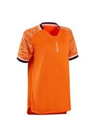IMVISO - Koszulka piłkarska halowa dla dzieci Imviso. Kolor: pomarańczowy, żółty, wielokolorowy. Materiał: poliester, materiał. Sport: piłka nożna