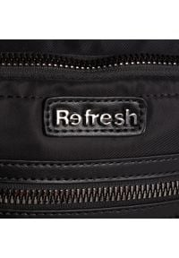 Refresh - Plecak REFRESH - 83342 Black. Kolor: czarny. Materiał: materiał #3