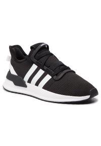 Czarne buty sportowe Adidas z cholewką, do biegania, na co dzień