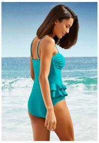 Zielony strój kąpielowy bonprix do noszenia na różne sposoby