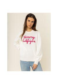 Biały sweter TOMMY HILFIGER