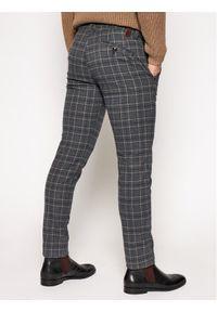 Bugatti Spodnie materiałowe 4960 66158 Szary Modern Fit. Kolor: szary. Materiał: materiał