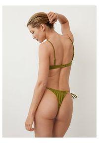 Zielone góra bikini mango