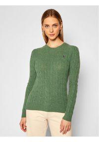 Zielony sweter klasyczny Polo Ralph Lauren polo